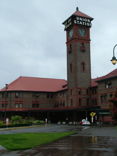 Day 7: Portland,  OR  Amtrak station