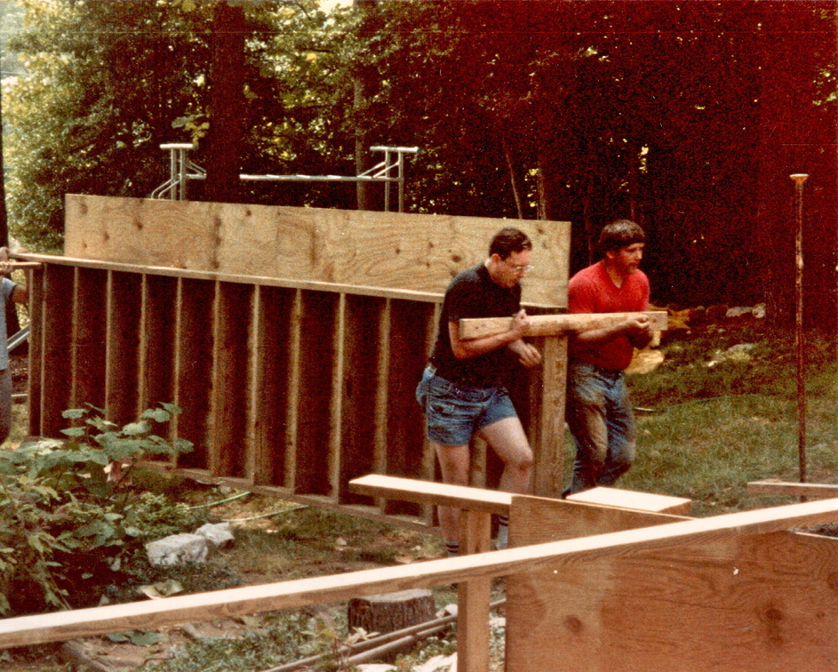 1987 Family Room Build - 13